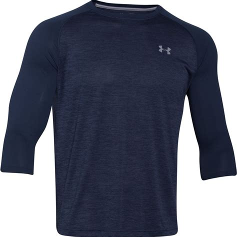 Tshirt Kaos Armour 4 armour tech raglan t shirt 3 4 sleeve s