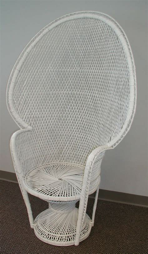 Baby Shower Wicker Chair by Shown Is Our Wicker High Back Chair It Would Be A