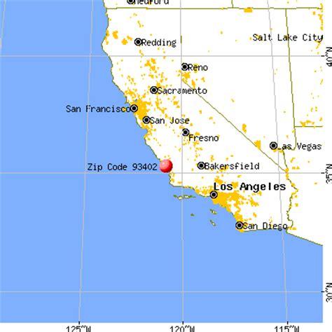 where is los osos california on a map 93402 zip code los osos california profile homes