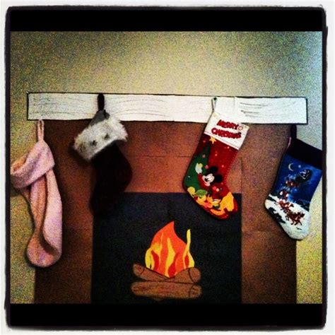 How To Make A Fireplace Out Of Paper - pin by sydney merrill on church
