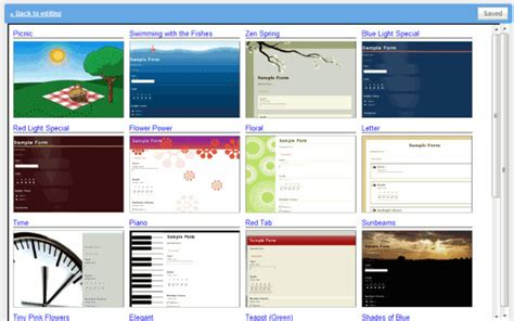 themes google forms themes for google docs forms