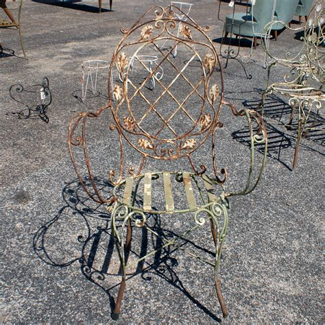 Wrought Iron Vintage Patio Furniture Vintage Wrought Iron Patio Chairs Omero Home