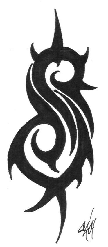 slipknot tribal s tattoo slipknot tribal s by serpentclown on deviantart