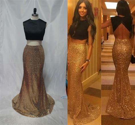 Best 25  Gold two piece prom dress ideas on Pinterest   Prom dresses two piece, Belly dancer