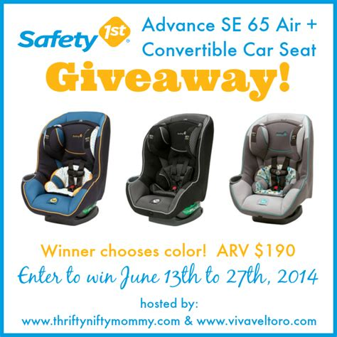 Convertible Sweepstakes - safety 1st advance se 65 air convertible car seat sweepstakes mom blog society