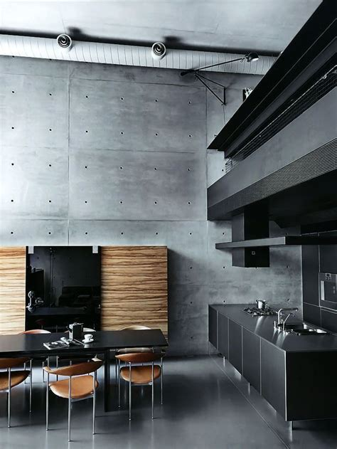 Industrial Interiors Home Decor 25 Absolutely Charming Black Kitchen Messagenote