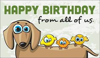 free happy birthday from all of us ecard email free personalized birthday cards