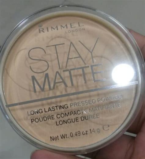 Rimmel Stay Matte Pressed Powder Original review for rimmel stay matte pressed powder a must try