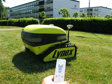 lawn care gadgets the grass printer is an artistic robotic lawnmower