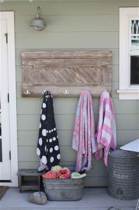 awesome diy towel racks for your dallas pool custom