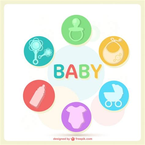 baby layout vector baby card layout vector free download