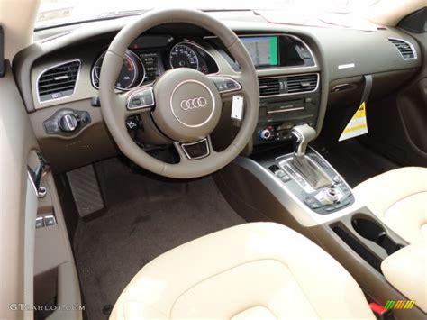 Audi A5 Interior 2013 by Velvet Beige Moor Brown Interior 2013 Audi A5 2 0t Quattro
