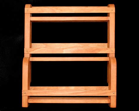Wall Mounted Spice Rack Spice Rack Freedom Wood Designs
