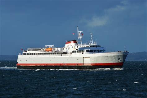 mv coho  black ball ferry  daily departures