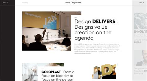 layout design trends 2018 web design trends we can expect to see in 2017
