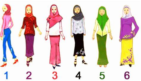 cara berpakaian menurut syariat islam viva