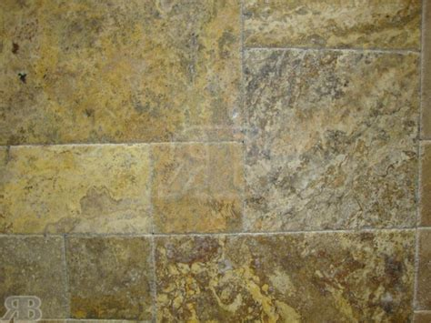 scabos brushed versailles pattern travertine