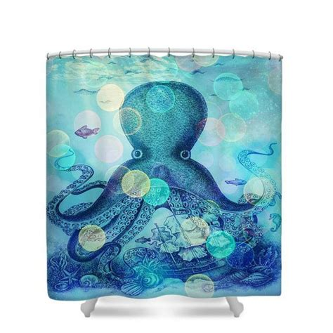octopus bathtub 1000 ideas about octopus shower curtains on pinterest