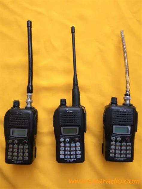 Ht Handy Talky Icom Ic V88 Vhf Grosir Murah Meriah Mewah dijual ht kesayangan icom v85 icom v88 antena stick swaradio
