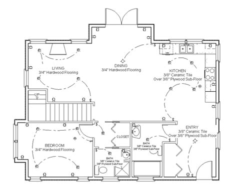 how to draw house floor plans draw floor plan step 8 for the home pinterest how to