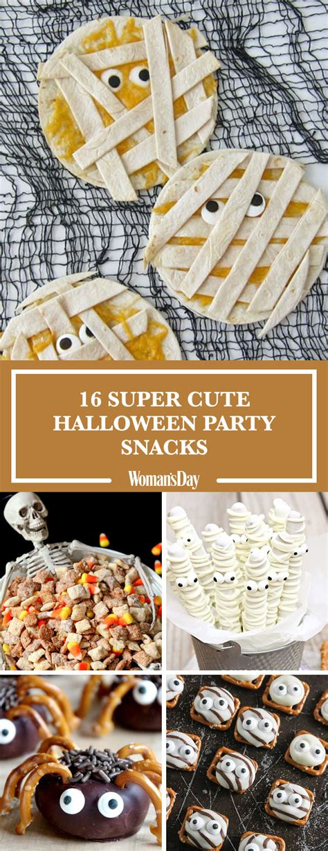easy halloween party snacks ideas  recipes