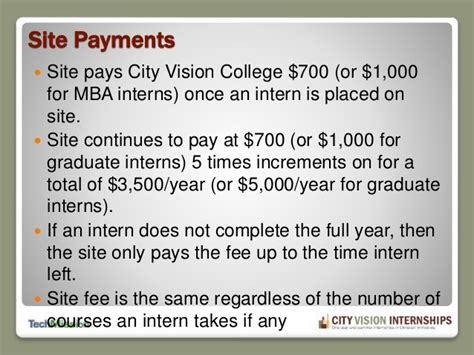 Paid Mba Iternship by City Vision Intern Orientation 12 23 14