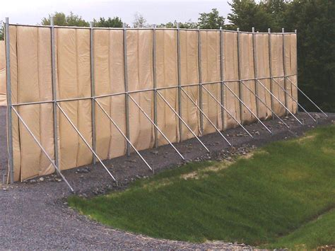 outdoor equipment noise control noise barrier