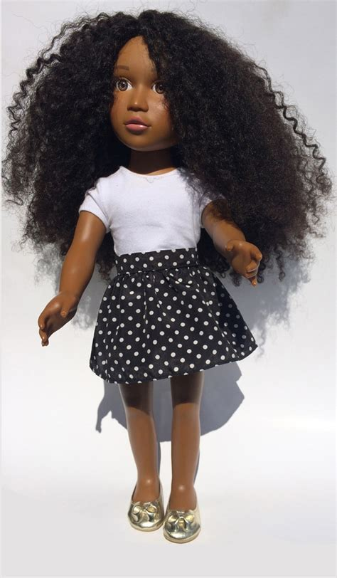 black doll hair doll seeks to make of color realize they are