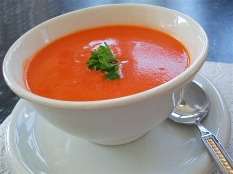 easy healthy appetizer recipe tomato soup with images