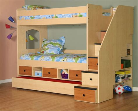 Trundle Bunk Bed With Storage Berg Utica Storage Bunk Bed