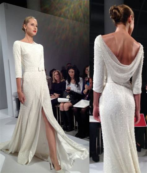 Dennis Basso   Great dress, for second wedding or vow