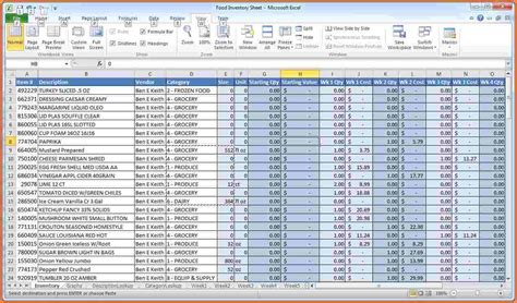Exles Of Inventory Spreadsheets by 10 Inventory Spreadsheet Exles Excel Spreadsheets