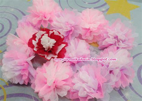 design bunga crepe diy crepe paper flower bunga tisu