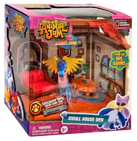 animal jam small house den playset limited edition winged