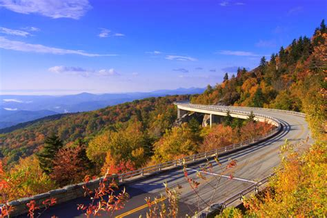 fall scenic drives early color asheville nc