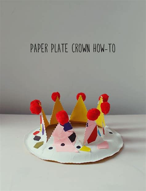 crown craft ks1 paper plate party crown kid play do fun things minis