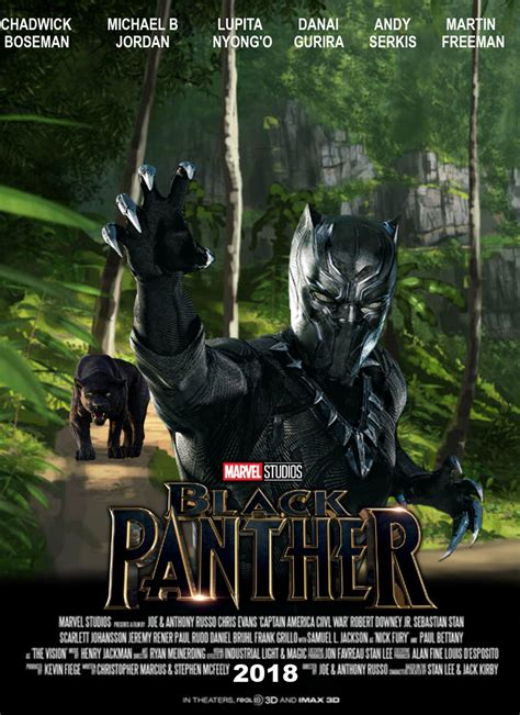 and the panther trailer a ralphecoyote black panther 2018 cast crew story trailer