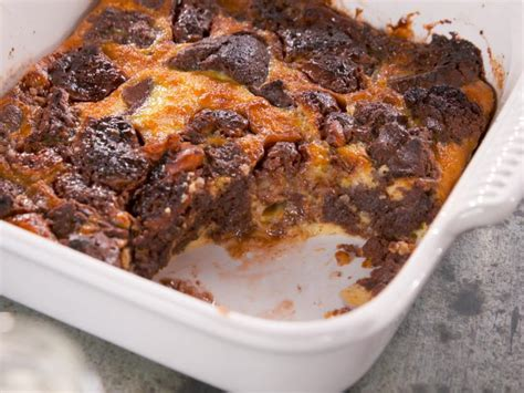ultimate brownie bread pudding  coconut chunks recipe nancy fuller food network