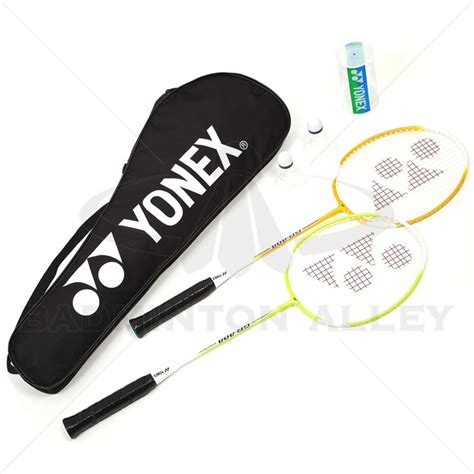 Tas Badminton Raket Yonex 2 Sleting 3 yonex combo badminton set