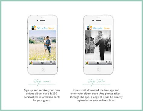 Wedding Snap by Collect Your Guests Photos Instantly With Wedding Snap
