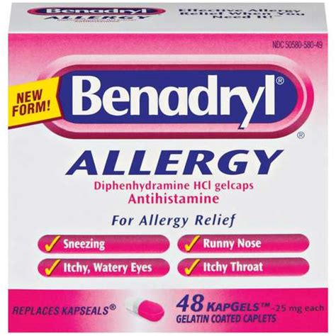 how to give a benadryl smokers cough
