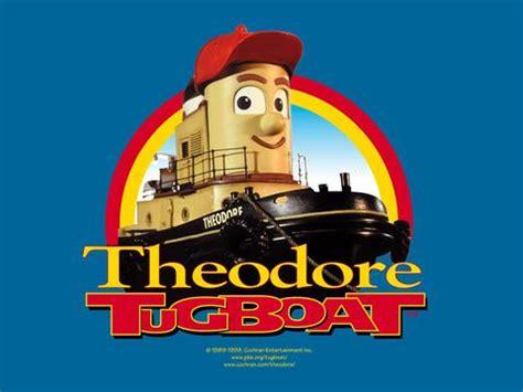 sleepboot tekenfilm theodore tugboat 75 episodes kids show pbs 4 dvd set rare