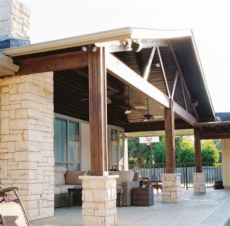 Rustic Patio Covers by Covered Patios And Arbors Rustic Patio Houston By