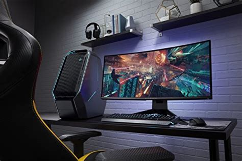 alienware 1900r 34 1 curved gaming monitor led lit wqhd 3440 x 1440p resolution 4ms 120hz