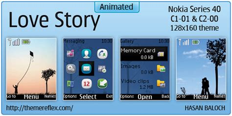 love themes c2 love story theme for nokia c1 01 c2 00 themereflex