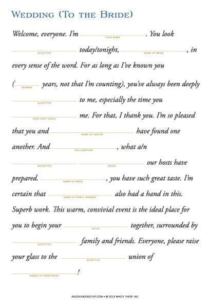 Wedding Survival Kit for Bride & Bridal Party   Knock