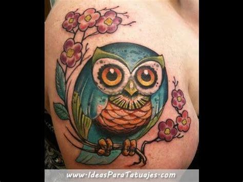 tatuajes de buhos y lechuzas ideas y ejemplos para tu