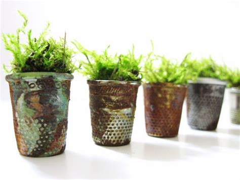 Vintage Planter by Keep Your Thimbles And It As Your Vintage