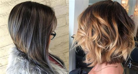 balayage bob hairstyles shortlong