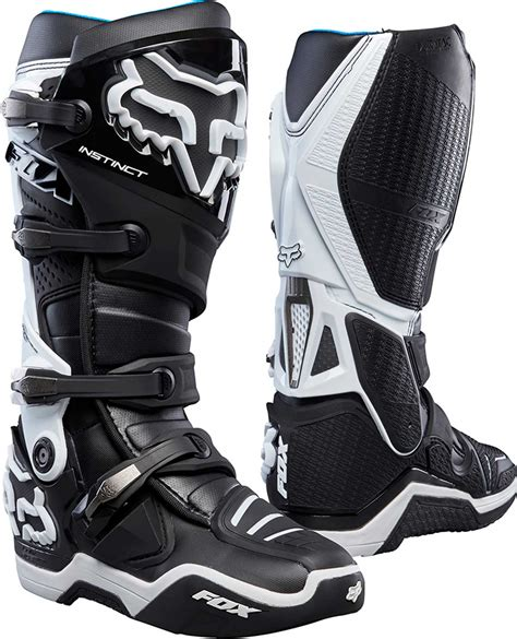 dirt bike racing boots 2017 fox racing instinct boots mx atv motocross off road
